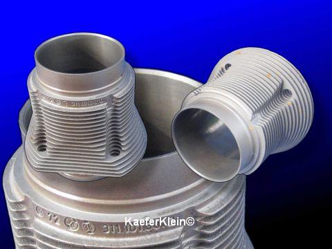 1500er Zylinder, grobe Zylinderverrippung, orig VW, made in Germany, 83,0 mm, einzeln, Teilenr.: 311 101 301 b