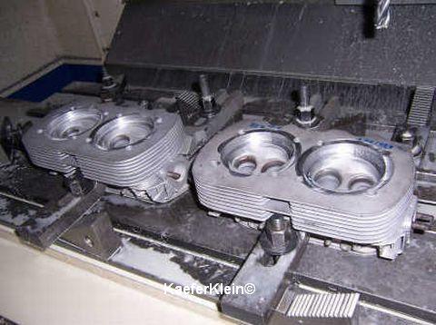 Zylinderköpfe 30 PS / Typ 1 / Typ 4, aufbohren / planen, Paar