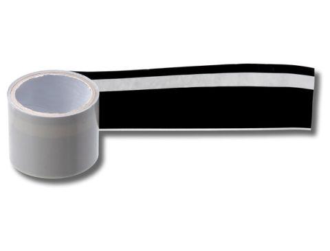 Aufkleber, Zierstreifen, für VW Golf 1, Jetta, seitlich, schwarz, Teilenr 161898524 01C, NOS