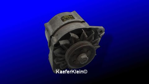 Lichtmaschine für Golf 1, bzw. Audi 50, Teilenr. 052903015, orig. VW