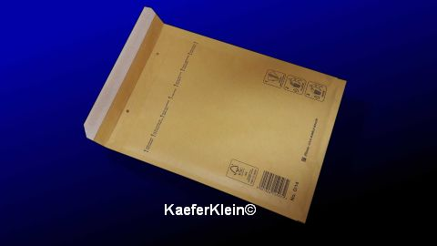 Luftpolstertasche, 202,5 x 275 mm, NEU