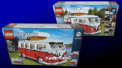 Volkswagen LEGO T1 Campingbus / Bulli, unbespielt, NEU