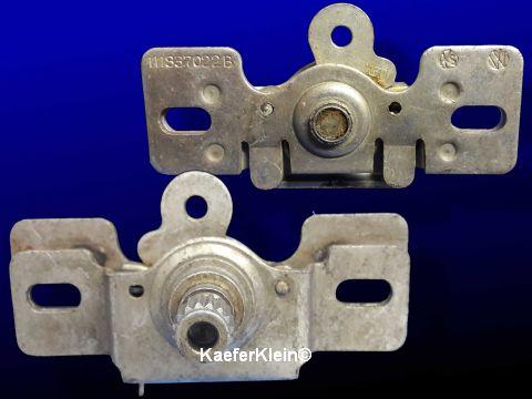 Zahnrad-Platte für Fensterkurbel-Mechanismus orig. VW, orig. VW Teilenr. 111837022B, NEU