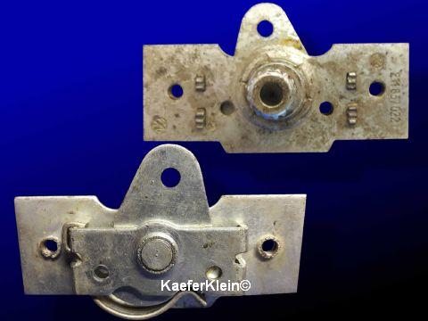 Zahnrad-Platte für Fensterkurbel-Mechanismus orig. VW, orig. VW Teilenr. 211837022, NEU