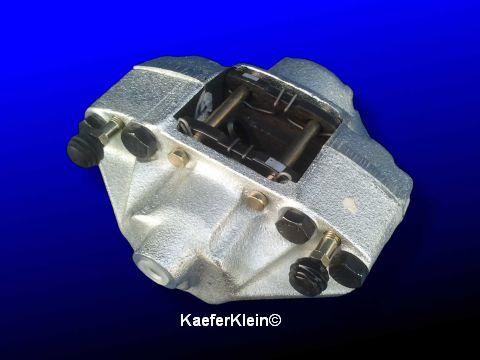Bremssattel vorne, für alle Käfer und Karmannmodelle mit Scheibenbremse, rechts u. links passend, NEU