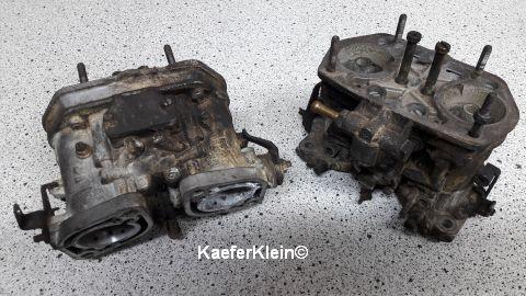 Original 40er WEBER Doppelvergaser, Paar