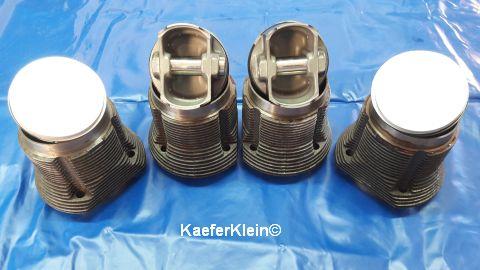 2180er MAHLE Kolben/Zylinder, geschmiedet, 92 mm für 82er Kurbelwellen, zahrt gebraucht
