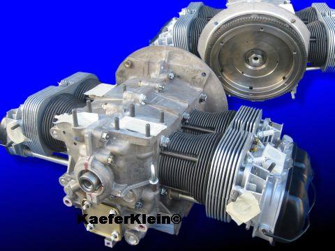 Rumpfmotor, 1915 ccm, Doppelkanal, Drehmomentmotor, für VW Käfer, Karmann, Trike, Buggy, usw, NEU aufgebaut