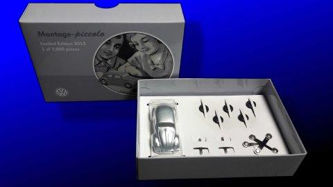 Modellauto, VV Käfer Piccolo, Limited Edition, 1 von 3000, Miniaturbausatz, Metallkarosserie, NEU u. originalverpackt