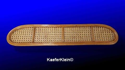Bambusablage, für VW Käfer Limosine mit GERADER Frontscheibe, originalgetreue MADE IN SCHWOBELÄNDLE Reproduktion, NEU