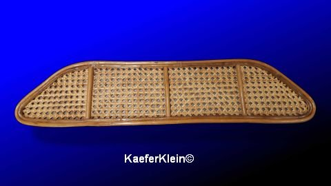 Bambusablage, für VW Käfer Cabrio mit GERADER Frontscheibe, originalgetreue MADE IN SCHWOBELÄNDLE Reproduktion, NEU