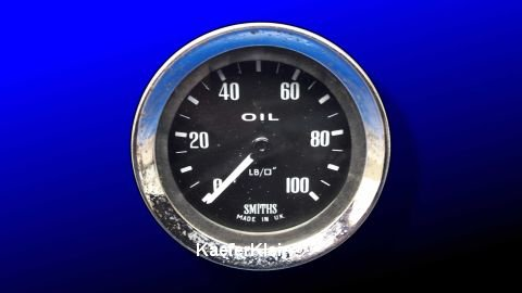 Anzeigeinstrument für Öltemperatur, Einbaumaß 52 mm, SMITHS