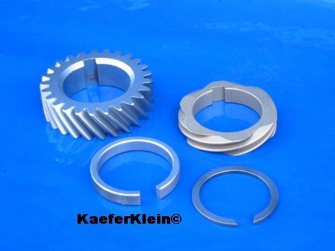 Verteiler. - Nockenwellenantriebsrad, 4-teiliges Komplettset, orig VW Teile, made in Germany