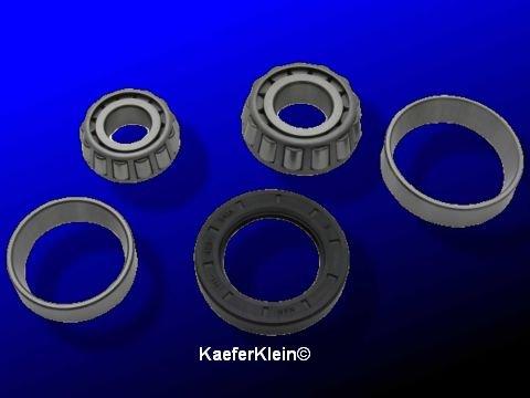 Radlagersatz vorne für VW Käfer / Karmann, ab Bj 68, - Kübel und Typ 411/412, komplett mit Dichtring, NEU