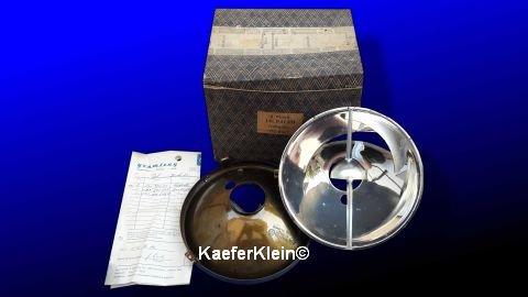 Reflektoren für Karmann, Paar, Teilenr.141941151, made in GERMANY, in orig. Schachtel, mit Rechn. vom Freundlichen aus 1970, NOS