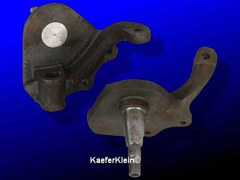 Tieferlegungsachsschenkel Bundbolzenachse mit Scheibenbremse für Käfer Karmann bis Bj 07/65 verwendbar Paar NEU