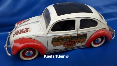 Modellauto, 1:18, VW Käfer CocaCola