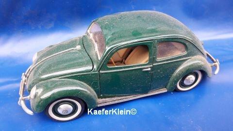 Modellauto, 1:18, VW Käfer, Brezel