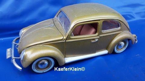Modellauto, 1:18, VW Käfer, Ovali, one million