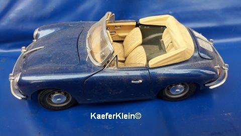 Modellauto, 1:18, Modell PORSCHE 356 Cabrio
