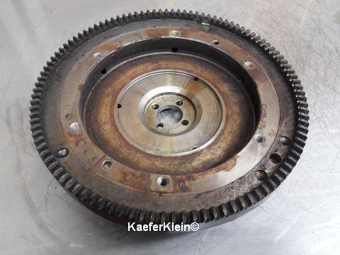 Schwungmasse / Schwungrad für 12-Volt Inustriemotor, 130 Zähne für 180er Kupplung