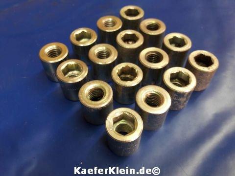 Zylinderkopfschrauben M10 mit Innensechskant (Satz, 16 Stück) für 24,5 / 30 PS Motoren