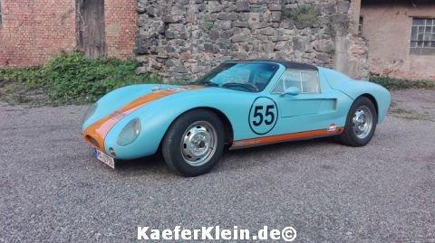 """AZTEC, Bj. 69 Oldtimer """"H"""" Zulassung mit Porsche 914 Typ4 Motor, 120 PS eingetragen"""